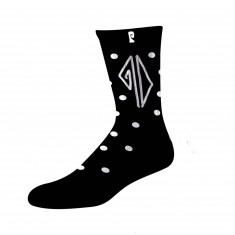 Psockadelic Piss Drunx Socks - Black/White