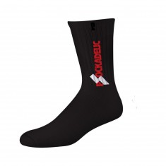 Psockadelic Sabotage Socks - Black/Red