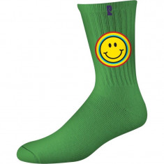 Psockadelic Joy Socks - Green/Yellow