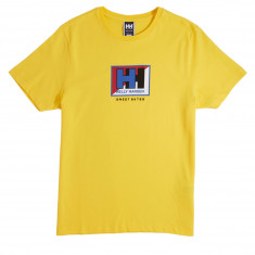 Sweet X Helly Hansen Basic Splitted T-Shirt - Young Yellow