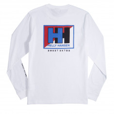 Sweet X Helly Hansen Splitted Longsleeve T-Shirt - White