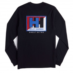 Sweet X Helly Hansen Splitted Longsleeve T-Shirt - Black