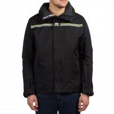 Sweet X Helly Hansen Sailing Jacket - Black/Neon Yellow