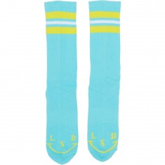 Good Worth Lsd Socks - Turquoise