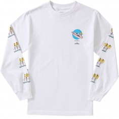Good Worth Fuck Off Longsleeve T-Shirt - White