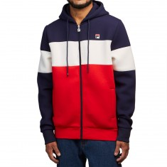 FILA Hugo  Hoodie - Navy/White/Chinese Red