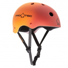 ProTec Classic Skate Skateboard Helmet - Red/Orange Fade