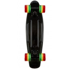 Sunset Black Rasta Skateboard Complete - with Rasta Wheels