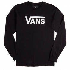 Vans Classic Long Sleeve T-Shirt - Black/White