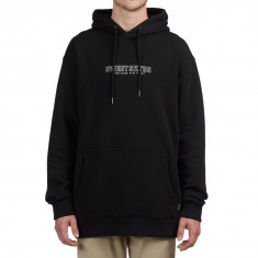 Sweet Time One Line Hoodie - Black