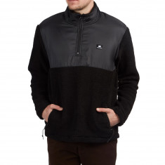 Sweet Mountain Popover Sweatshirt - Black