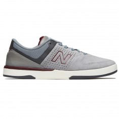 New Balance Numeric 533 V2 Shoes - Grey/Burgundy
