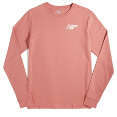 New Balance NB Longsleeve T-Shirt - Dusty Peach