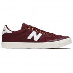 New Balance Pro Court 212 Shoes - Burgundy/White