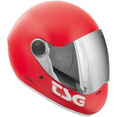 TSG Pass Fullface Helmet - Satin Fire Red