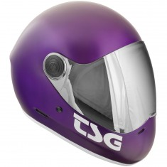 TSG Pass Fullface Helmet - Satin Purple