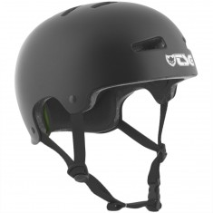 TSG Evolution Solid Color Helmet - Satin Black