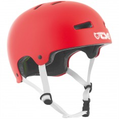TSG Evolution Solid Color Helmet - Satin Fire Red