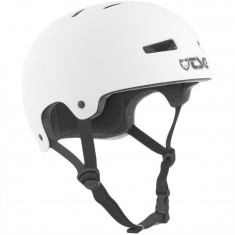 TSG Evolution Solid Color Helmet - Satin White