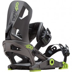 NOW IPO Snowboard Bindings - Grey