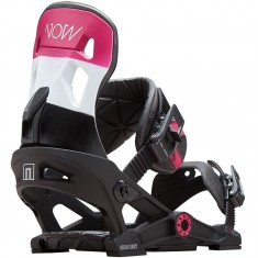 NOW Conda Snowboard Bindings - Black