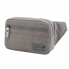 Hex Waistpack Bag - Strata Grey Crinkle