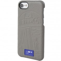 Hex X Star Wars iPhone 8 Phone Case - R2D2 Grey Emboss