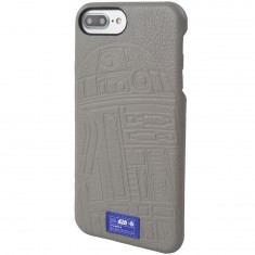 Hex X Star Wars iPhone 8+ Phone Case - R2D2 Grey Emboss
