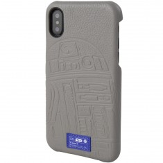Hex X Star Wars iPhone X Phone Case - R2D2 Grey Emboss
