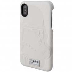 Hex X Star Wars iPhone X Phone Case - Stormtrooper White Emboss