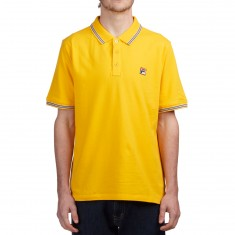 FILA Matcho 3 Polo Shirt - Lemon Chrome