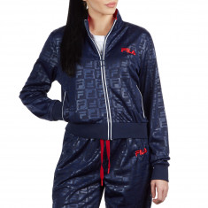 c240f460bd0a2 FILA Womens Isadora Track Jacket - Peacoat/White/Chinese Red