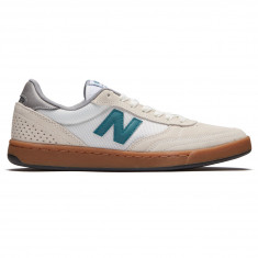 New Balance 440 Shoes - Sea Salt/Forest