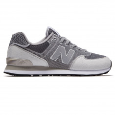 New Balance 574 Engineered Mesh Shoes - Silver Mink/Gunmetal