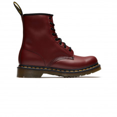 Dr. Martens Womens 1460 8 Eye Smooth Leather Boots - Cherry Red