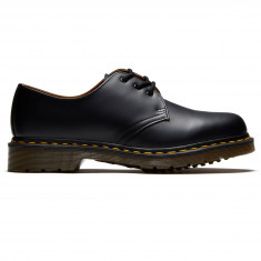 Dr. Martens 1461 3 Eye Smooth Leather Shoes - Black