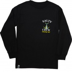 Salty Crew Chasing Tail Long Sleeve T-Shirt - Black