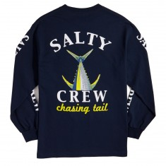 Salty Crew Chasing Tail Long Sleeve T-Shirt - Navy