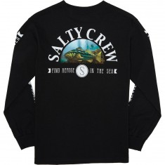 Salty Crew Calico Long Sleeve T-Shirt - Black