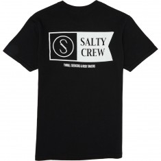 Salty Crew Alpha Pocket T-Shirt - Black