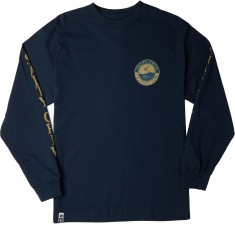 Salty Crew Chasing Tern Long Sleeve T-Shirt - Navy
