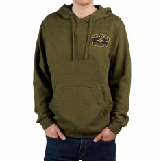 Salty Crew Leeward Hoodie - Army Heather