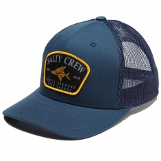 Salty Crew Leeward Retro Hat - Navy