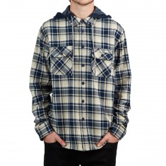Salty Crew Stern Flannel Shirt - Navy