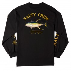 Salty Crew Ahi Mount Long Sleeve T-Shirt - Black