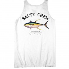 Salty Crew Ahi Mount Tank Top - White