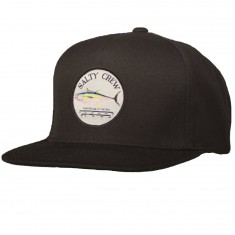 Salty Crew Ahi Gauge Trucker Hat - Black