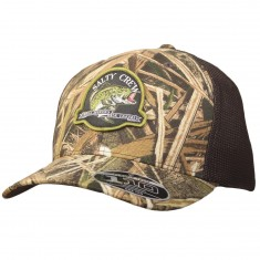 Salty Crew Largemouth Retro Trucker Hat - Grass Blades