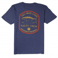 Salty Crew Lure Set T-Shirt - Navy Heather