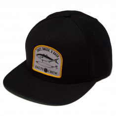Salty Crew Lure Set Hat - Black